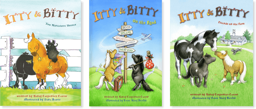 Itty & Bitty Children's Book Series