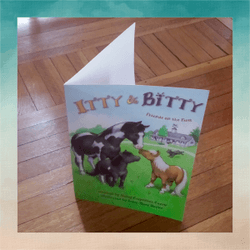 Itty & Bitty 2-pocket folder