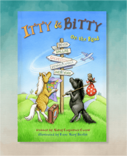 Itty Bitty On the Road Book 3