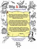 Itty & Bitty Coloring Book